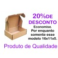 50 Caixas de papelão cv pequena - 160x110x50