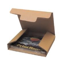 50 caixas de papelão para presentes, cd ou dvd - 150x140x20