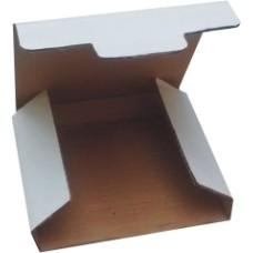 50 caixas de papelão branca para presentes, cd ou dvd - 150x140x20