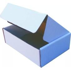 50 Caixas de papelão Branca cv mini - 125x95x40
